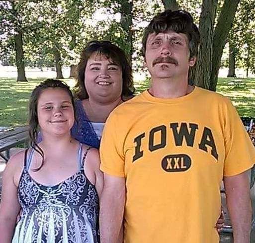 Samantha, Karrie and Lyle Higgins