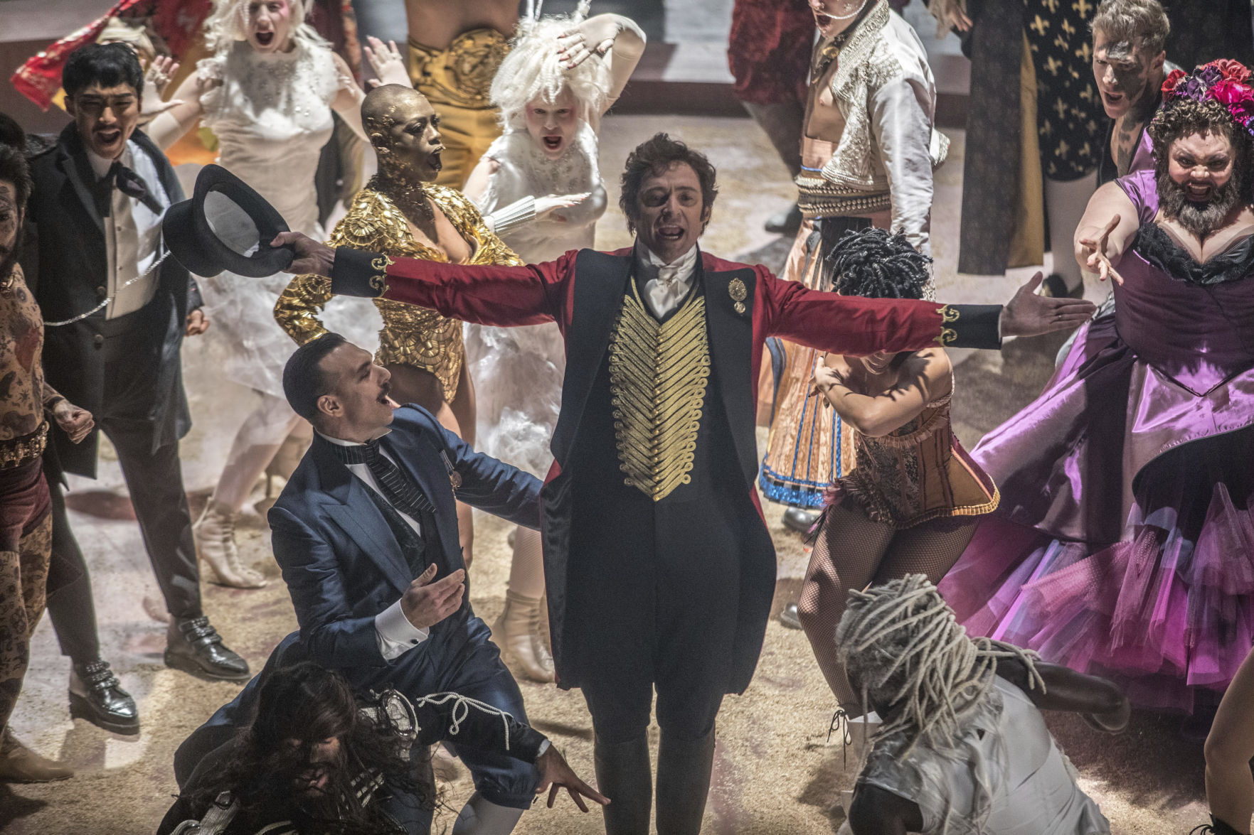 Film Review The Greatest Showman Musical numbers