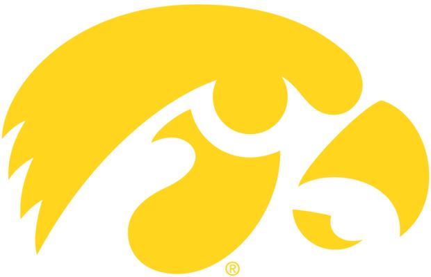 Hawkeyes logo yellow