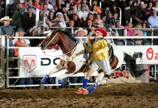 Rodeo Clowns Balance Safety With Humor Fun And