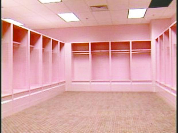 Kinnick Stadium S Pink Visitors Locker Room Gets Critical Look