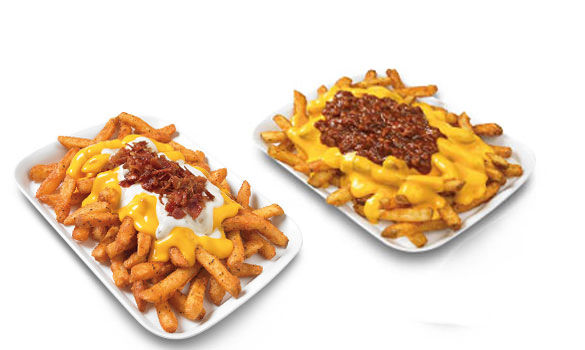 hot, crisp, famous seasoned fries