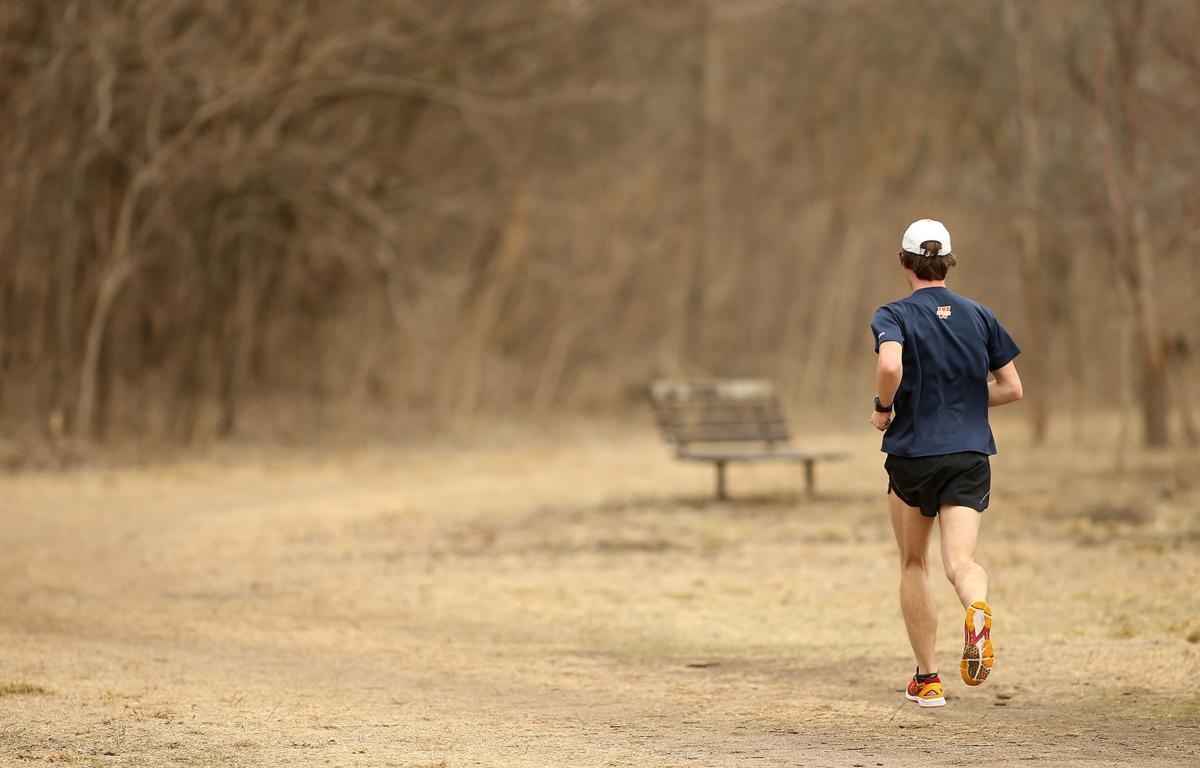 Sylvan Island jogger