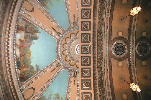 dome of capitol theatre, davenport