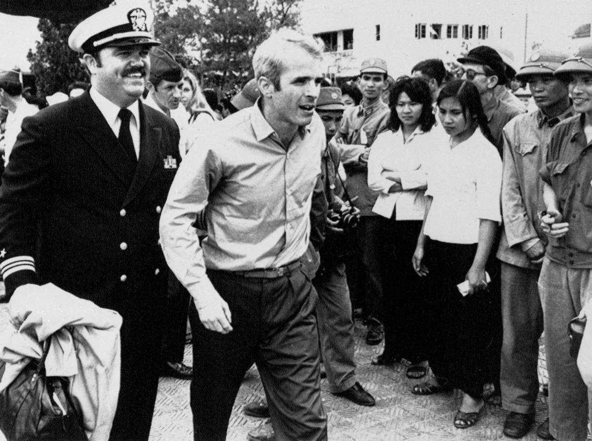 Uprooted Palestinian John McCain and the POW CoverUp
