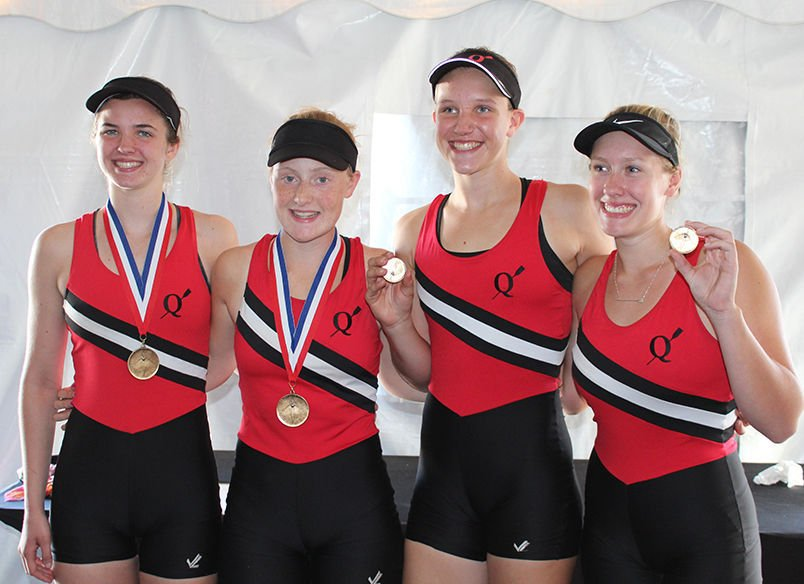 Y Quad-Cities rowers
