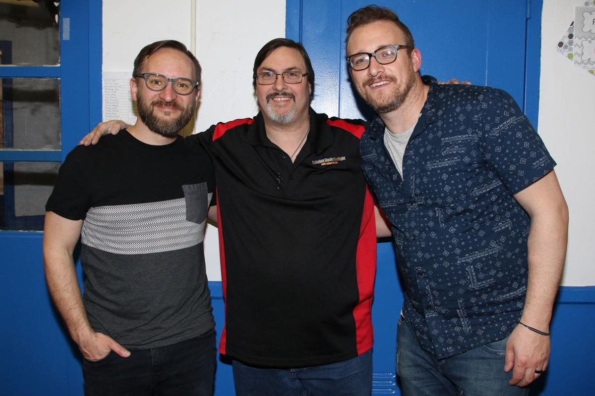 Brian Wallace with Sanctus Real in 2019