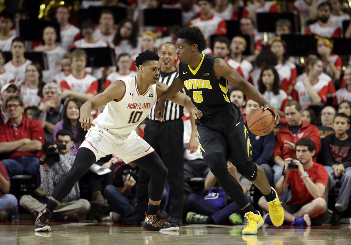 Iowa Maryland Basketball