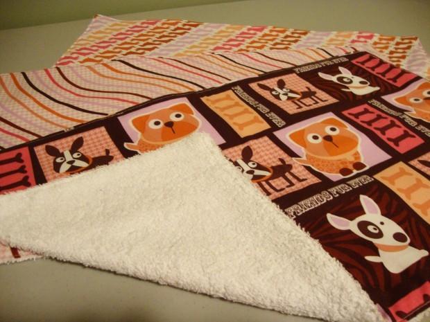 DIY Thursday: Terry cloth-backed burp cloths | Home Rookies