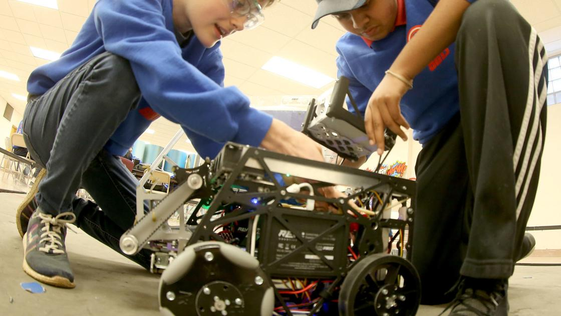 'There?s so much more than robots': Three Quad-Cities teams head to Detroit for FIRST tech and robotics championships