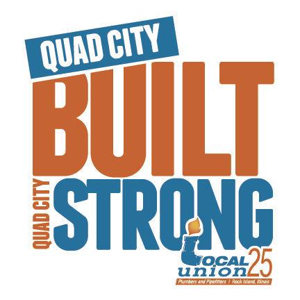Quad City Built Quad City Strong logo