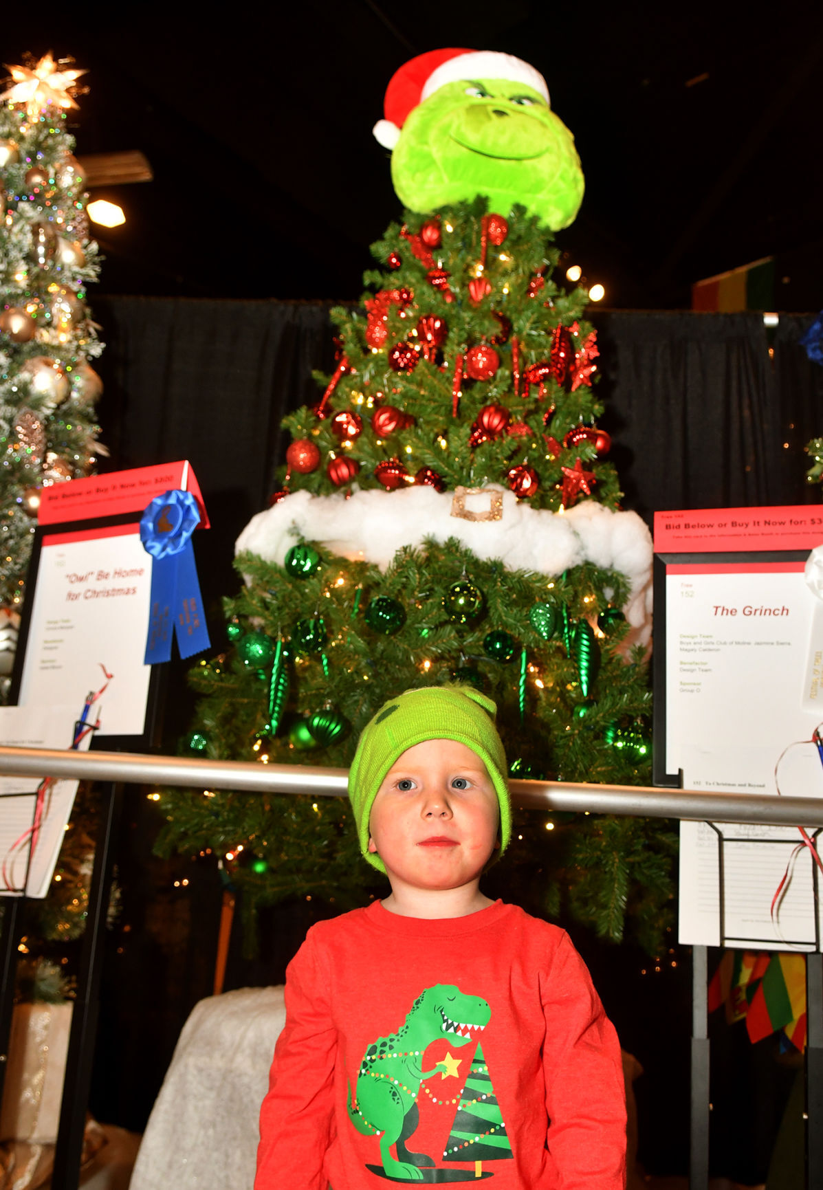 "Festival of Trees ""Christmas Around the World""."