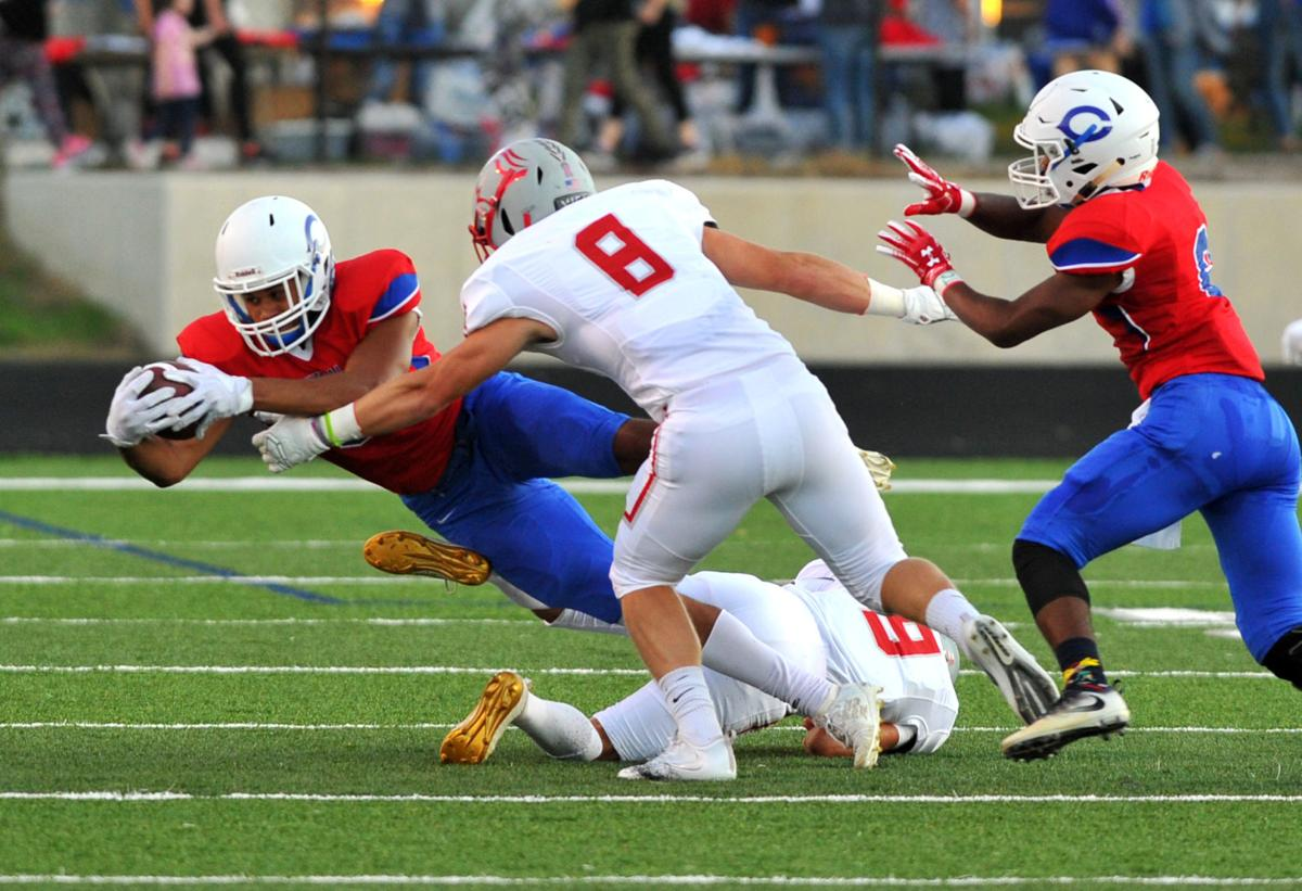 North Scott at Davenport Central football