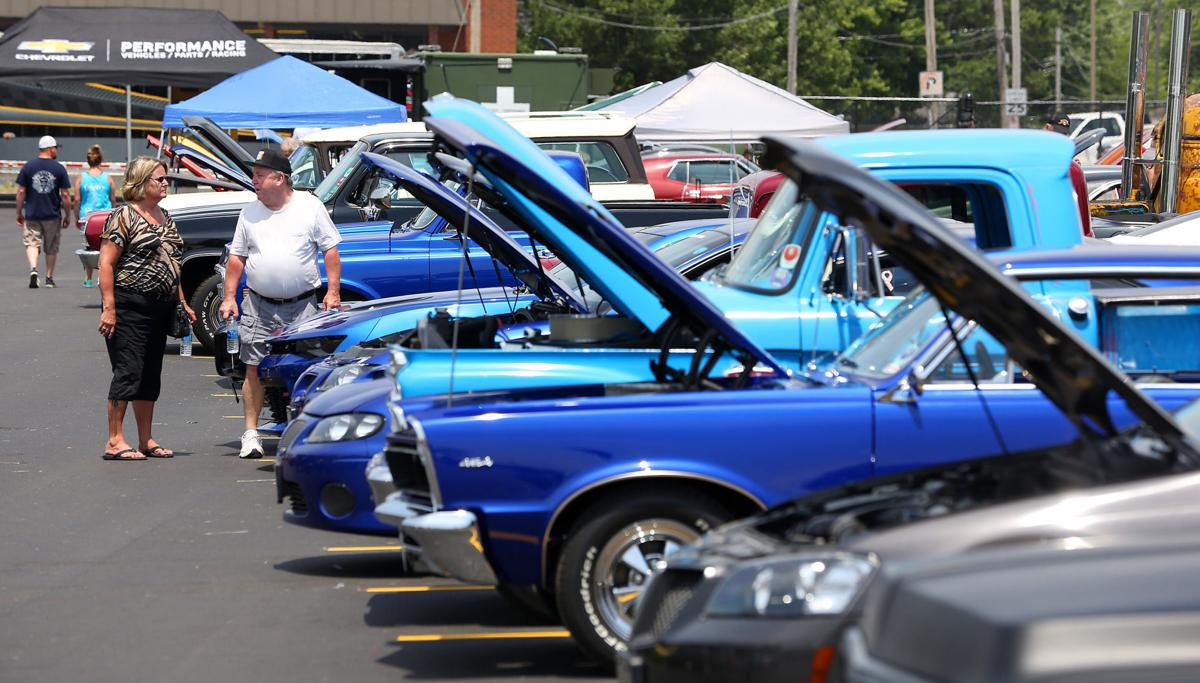Hot rods roar into town