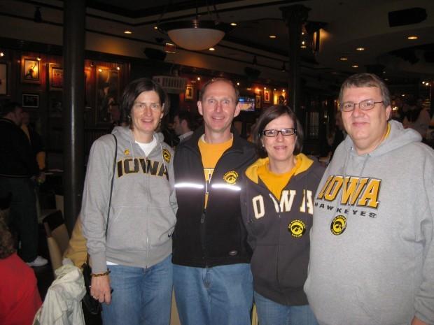 Sharon and Bruce McElhinney, Terri and Denny Fox