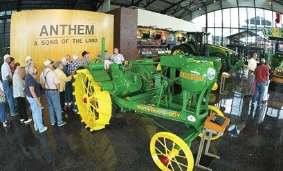 John Deere Pavilion: Celebrating 10 years of showing green machines