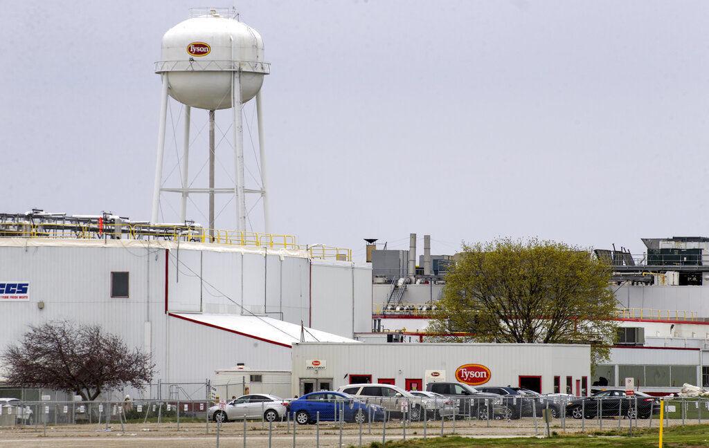 Virus Outbreak Iowa Meat Plant