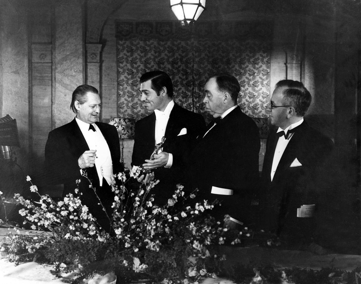 1935: Lionel Barrymore, Clark Gable, Irving S. Cobb