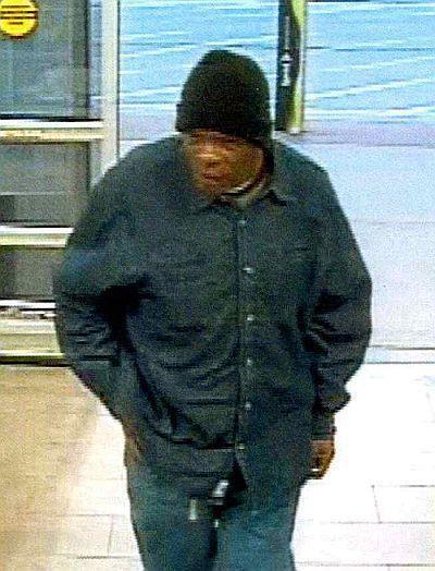Quick change theft suspect