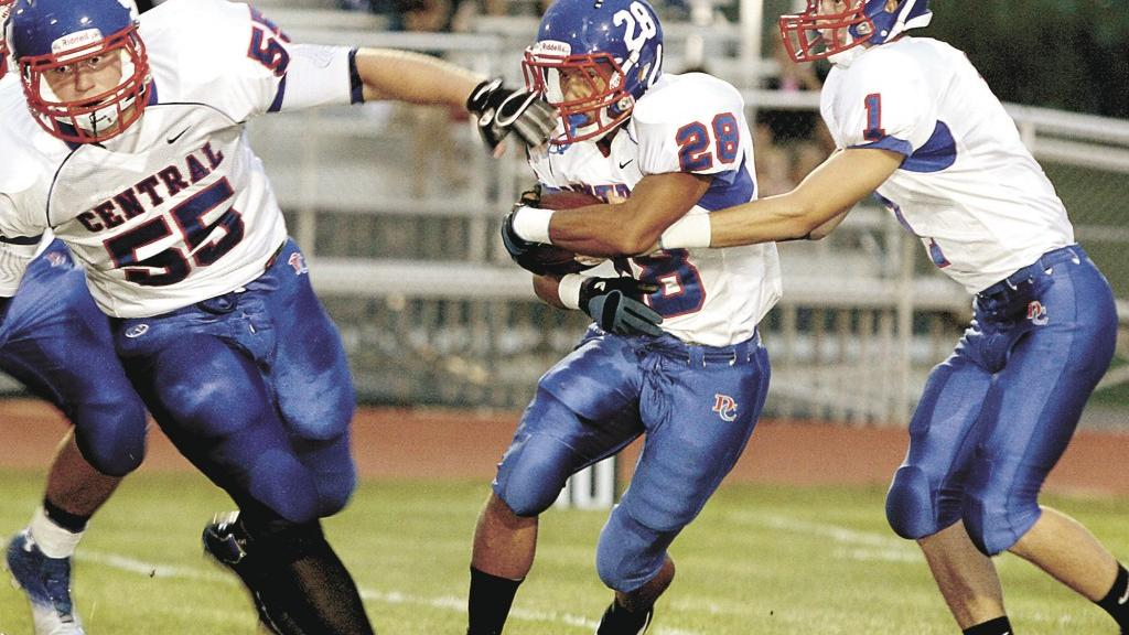 Central running back Minch on record pace   High School ...