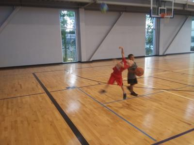 Kids in motion: Child Watch at the YMCA during Bix 7