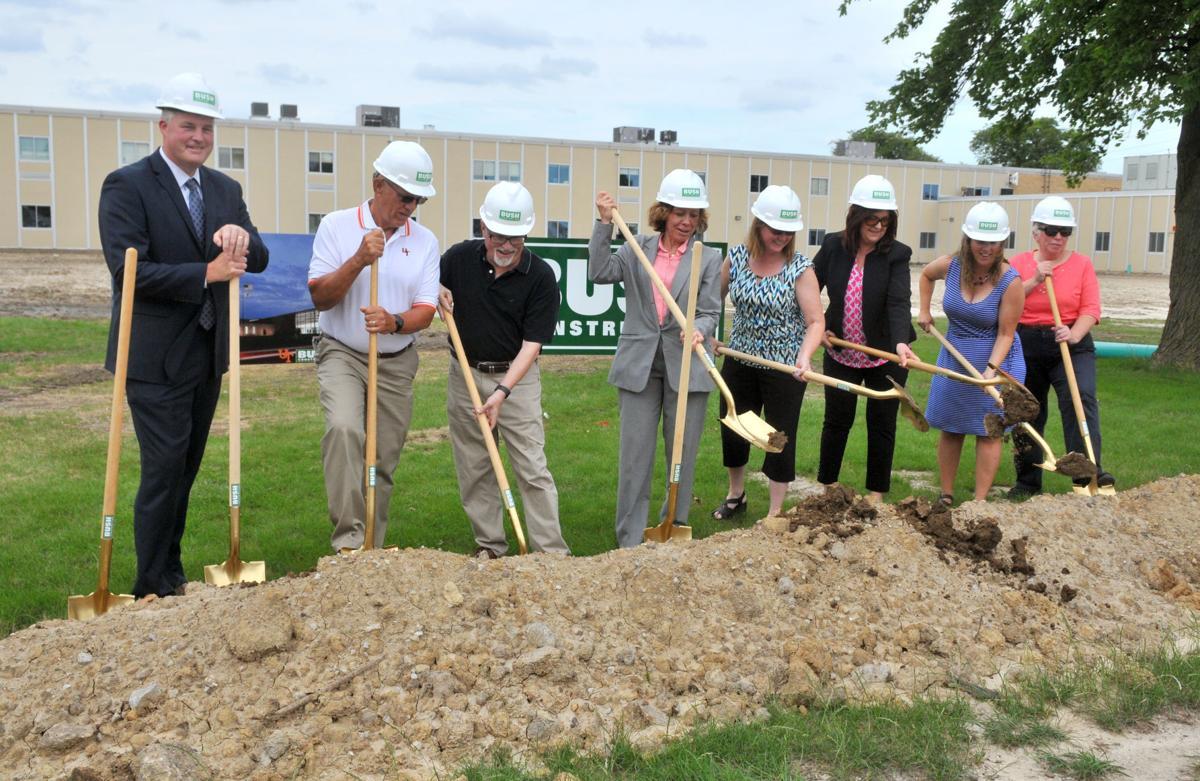 United Township High School Student Life Center groundbreaking.