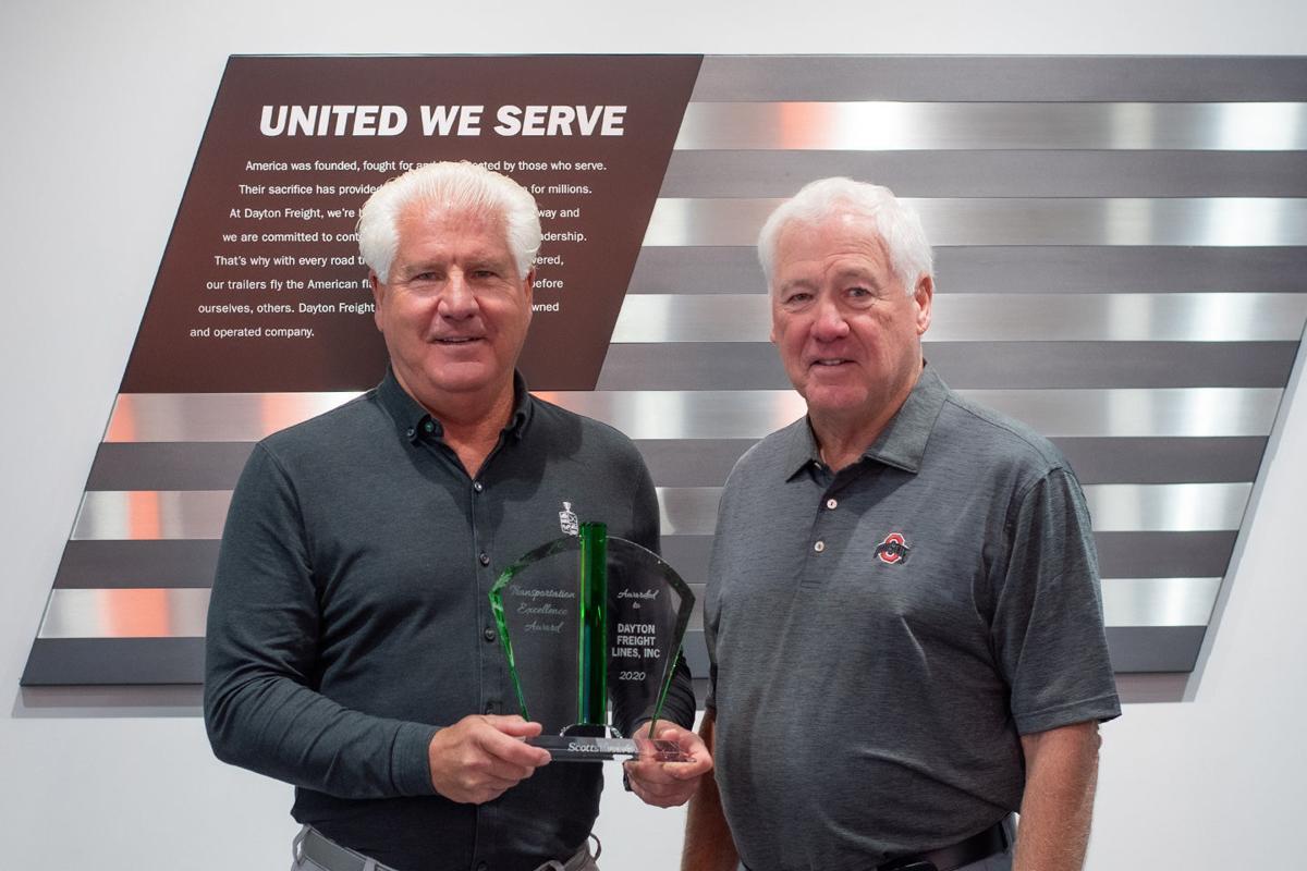 Dayton Freight award