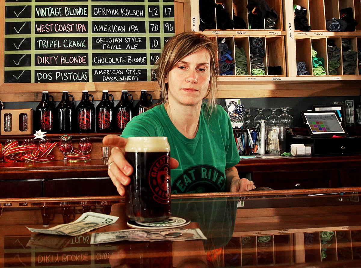 Irish beer tapping
