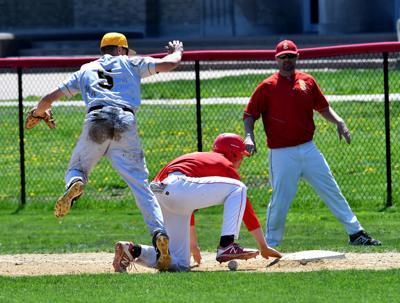 Galesburg at Rock Island baseball
