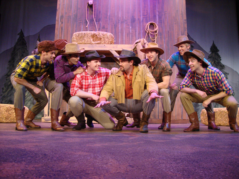 """Seven Brides for Seven Brothers,"""
