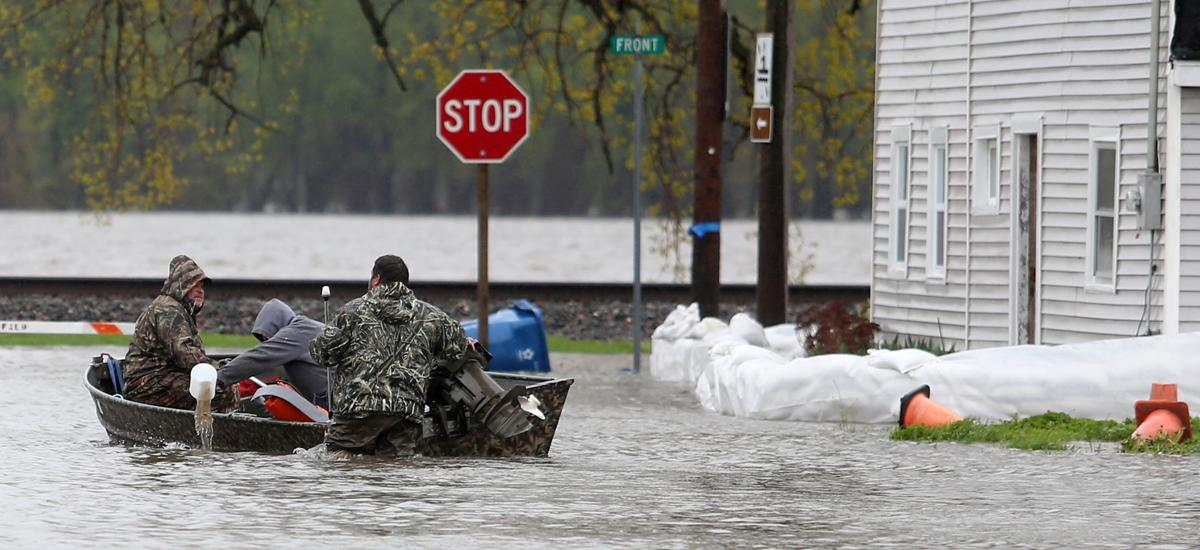 FLOOD UPDATES: Catastrophe strikes Davenport | River