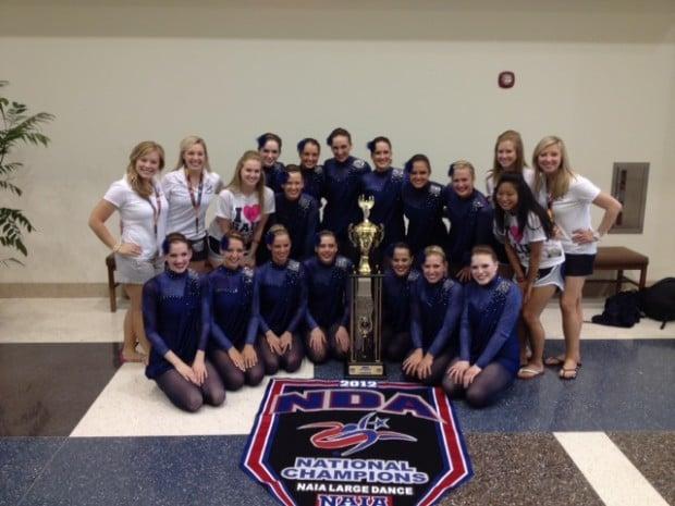 St. Ambrose University dance team
