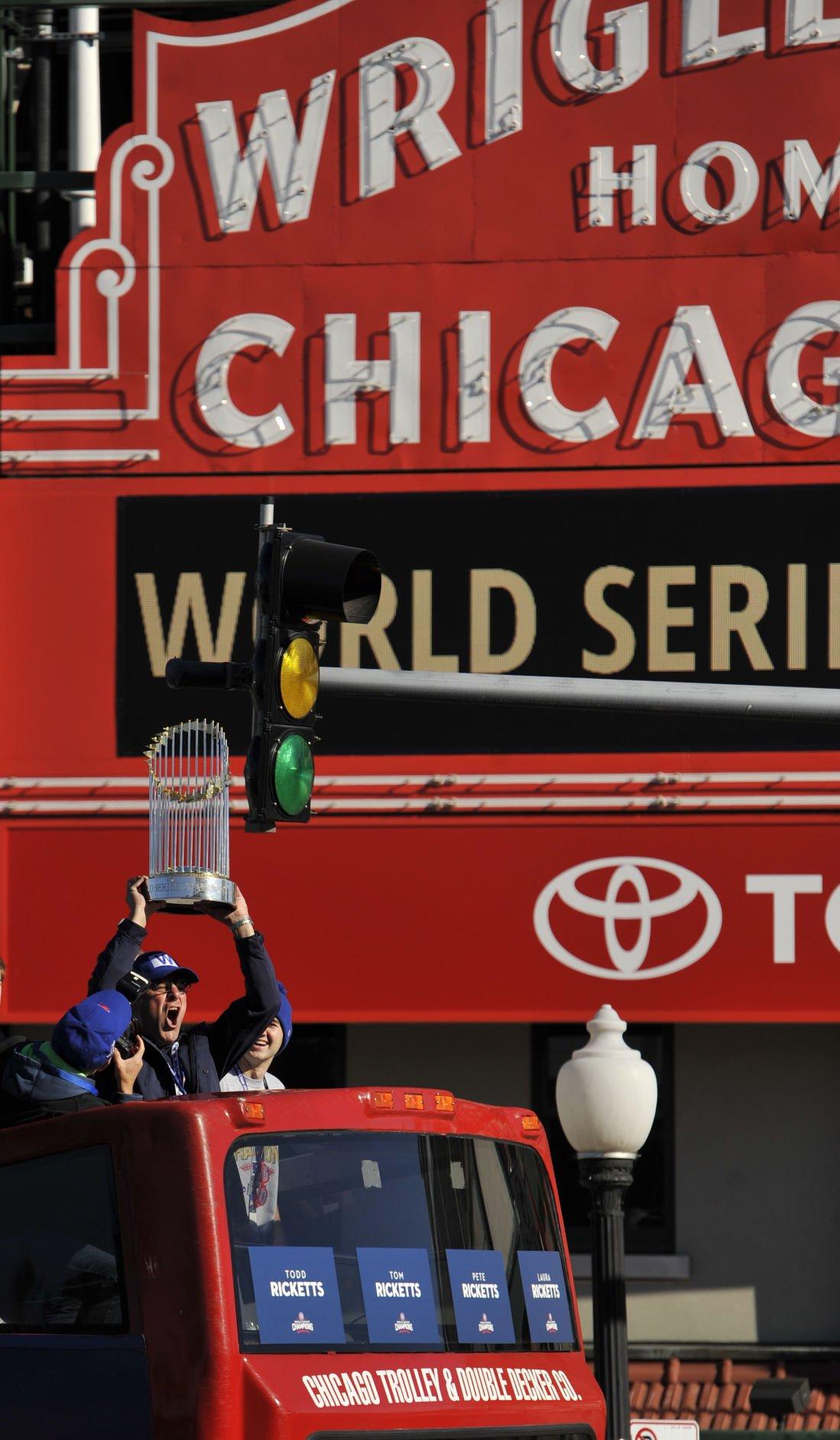World Series Cubs Parade Baseball
