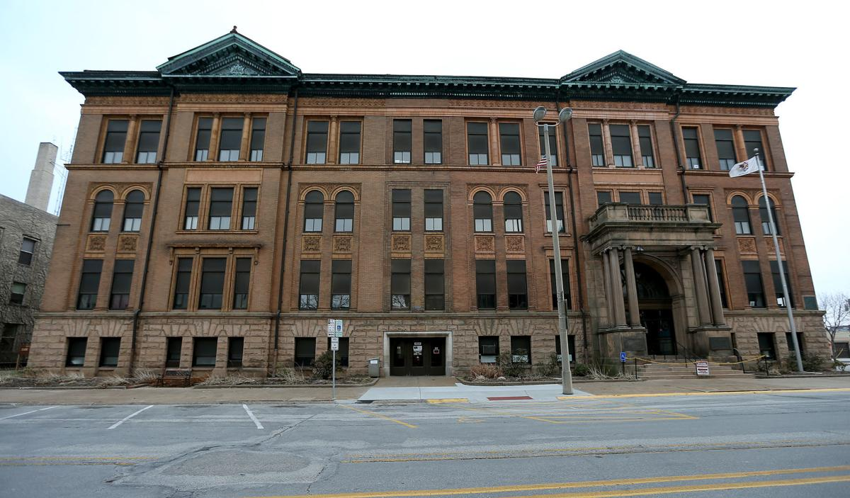Rock Island County office building