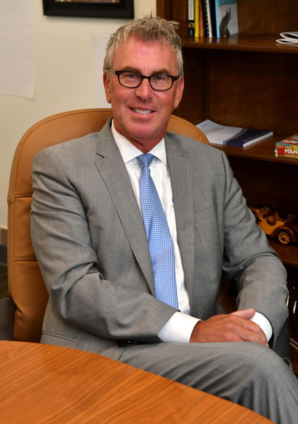 Davenport schools superintendent, Robert Kobylski