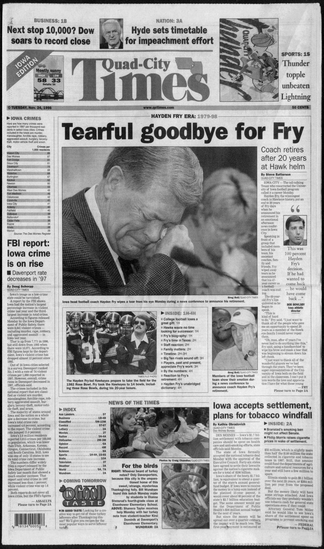 1998 Hayden Fry retires - 11-24-98.pdf