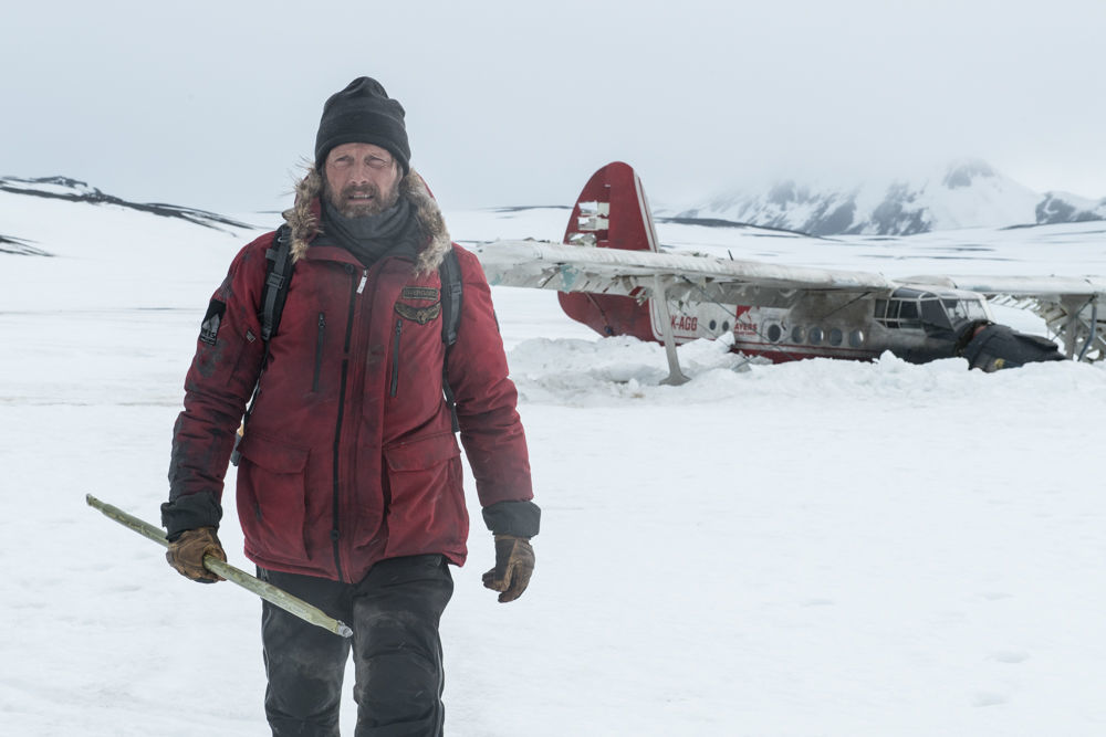 """Mads Mikkelsen in """"Arctic"""""""