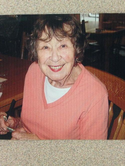 Mary Louise Caponette 96th Birthday