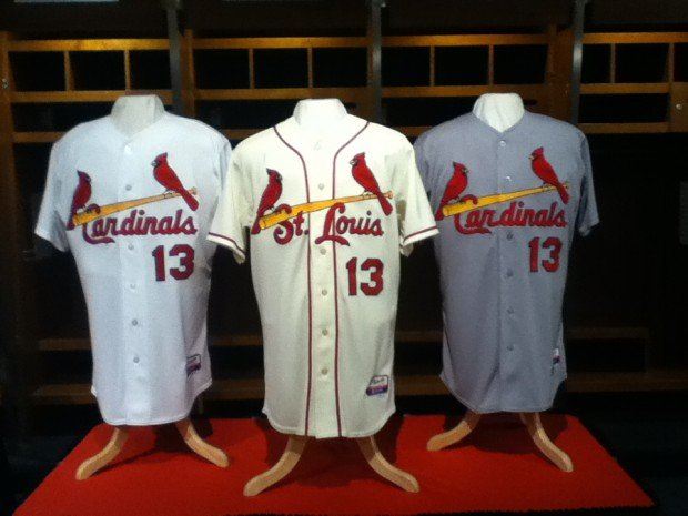 1ae524e5d760 Cardinals unveil new jerseys with  St. Louis  on front ...