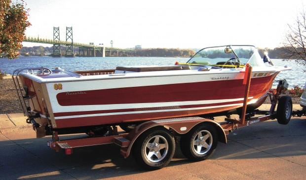 Jim Hayek boat