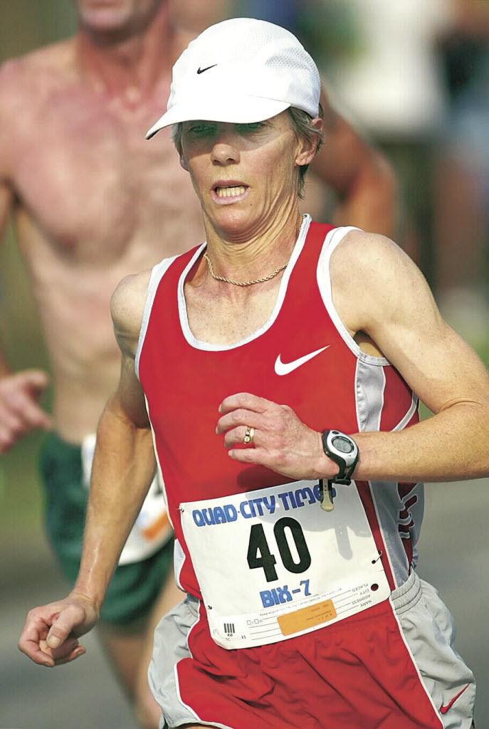 Joan Benoit-Samuelson, 2003 Bix 7