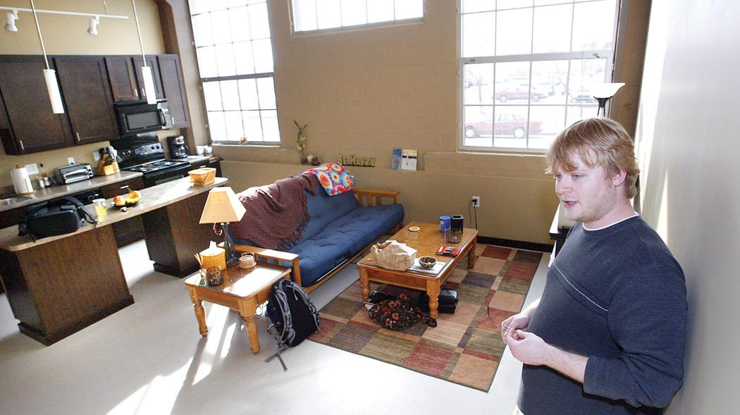 Downtown Davenport attracting loft dwellers