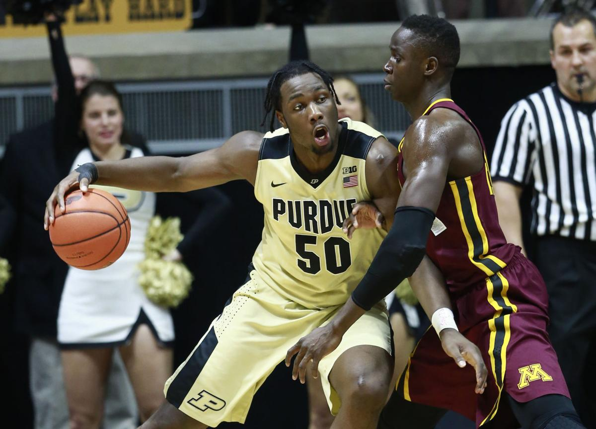 Minnesota Purdue Basketball