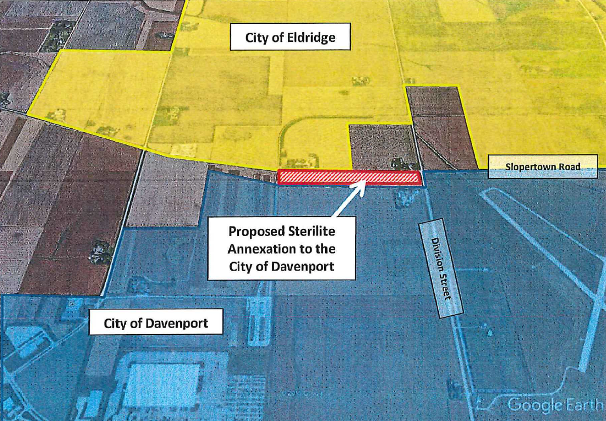 Davenport seeks annexations for Eastern Iowa Industrial