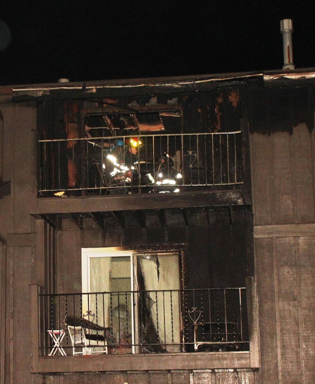 Davenport Apartments: Fire Damages Davenport Apartment Building