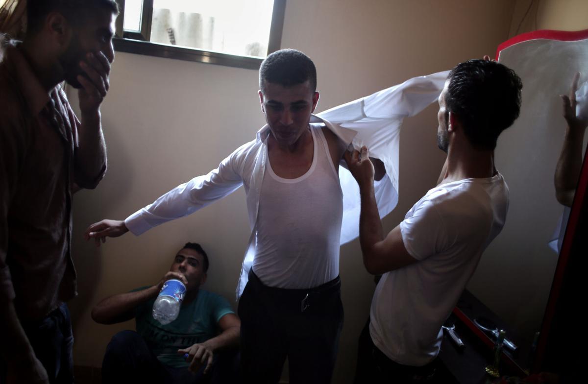Mideast Gaza Wedding Photo Essay