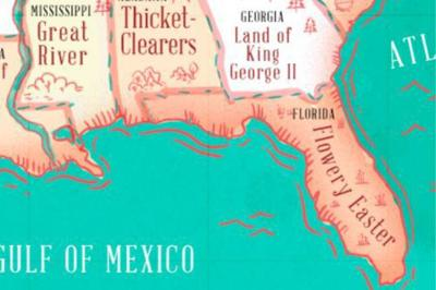 This Map Shows The Literal Meaning Every State Name