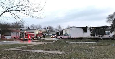 Mobile home fire