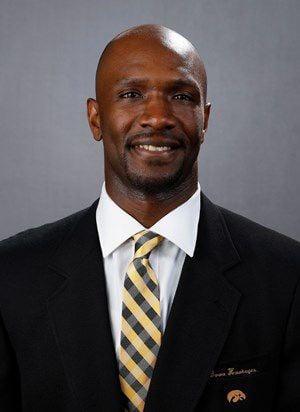 Iowa assistant coach Courtney Eldridge