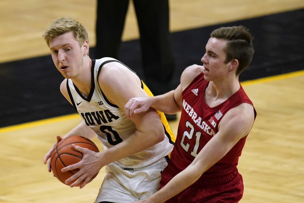 Nebraska Iowa Basketball